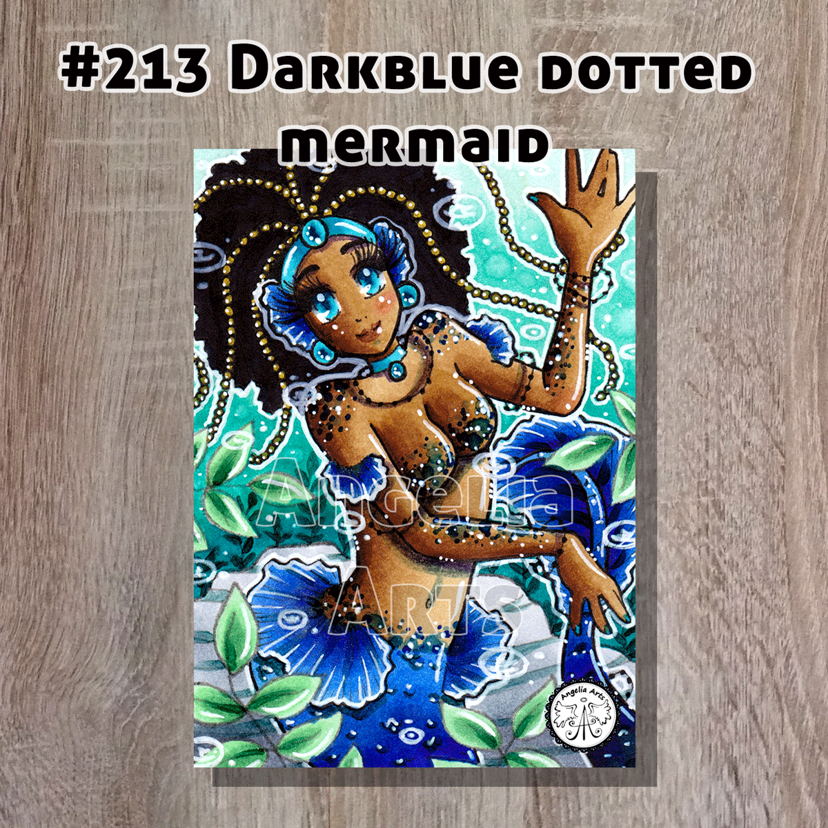 #213-darkblue-dotted-mermaid-front