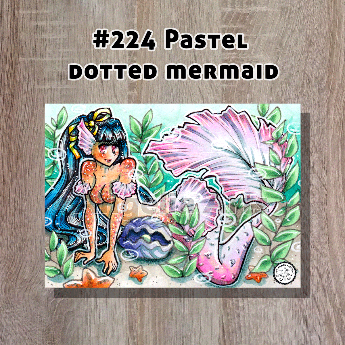 #222-Brown-dotted-mermaid-backk