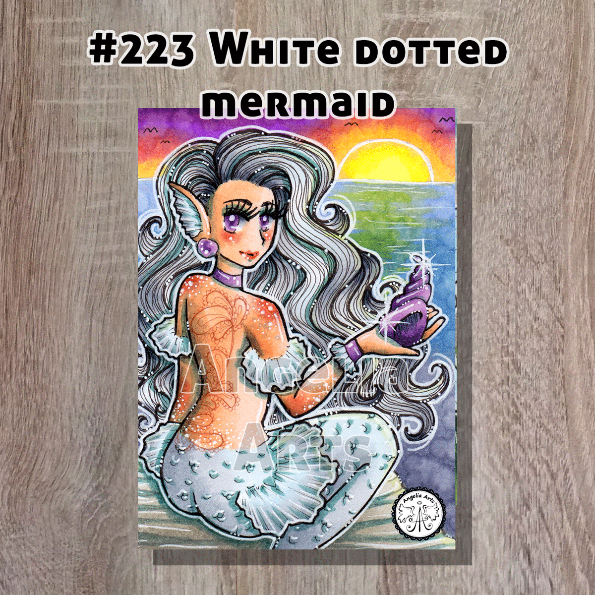 #223-White-dotted-mermaid-front