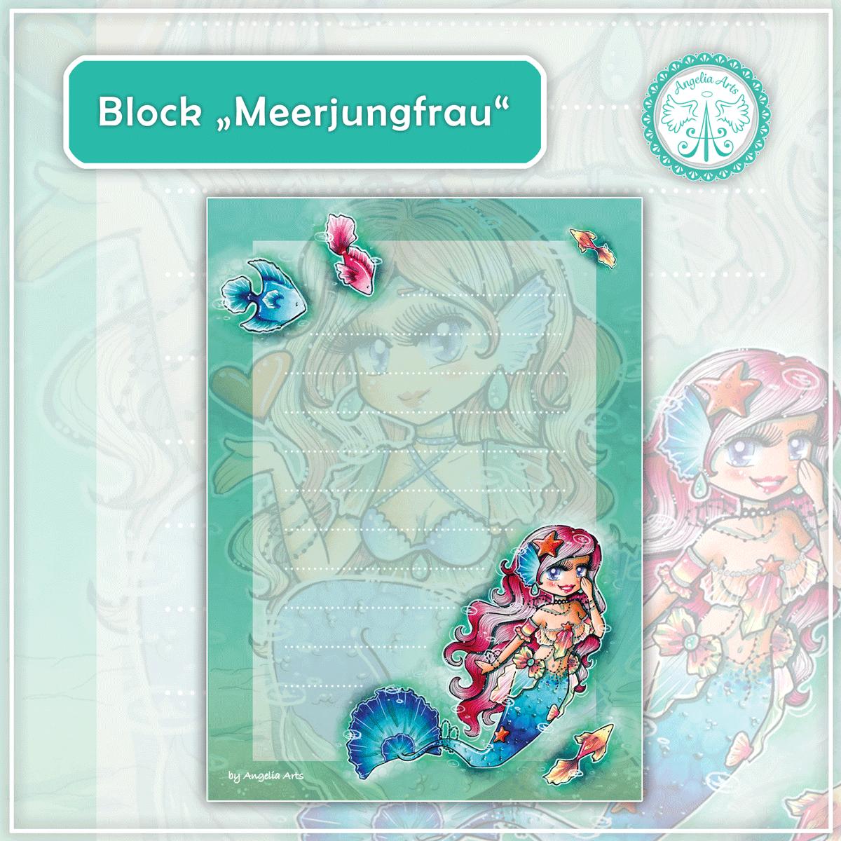 Block-Meerjungfrau