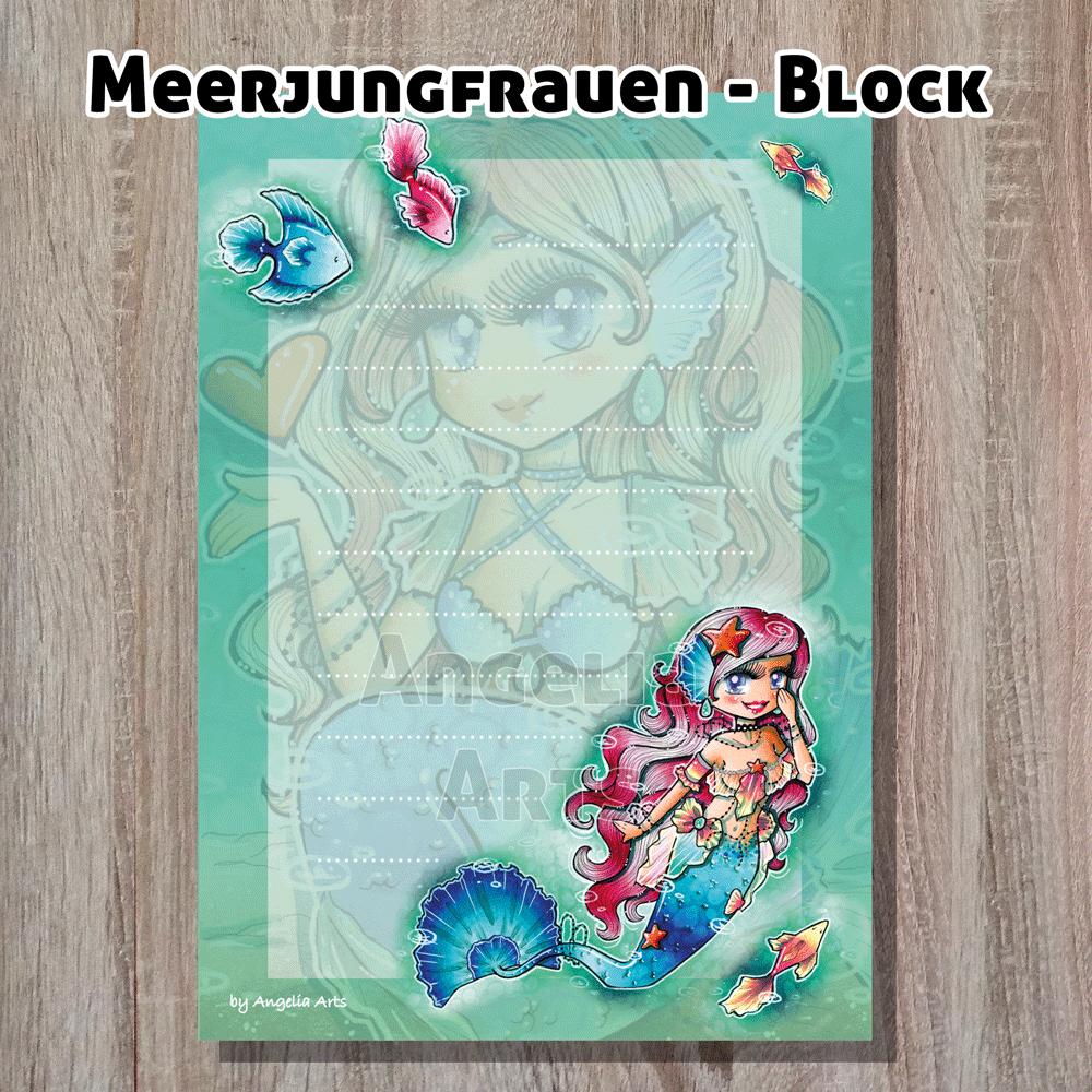 Meerjungfrauen-Block
