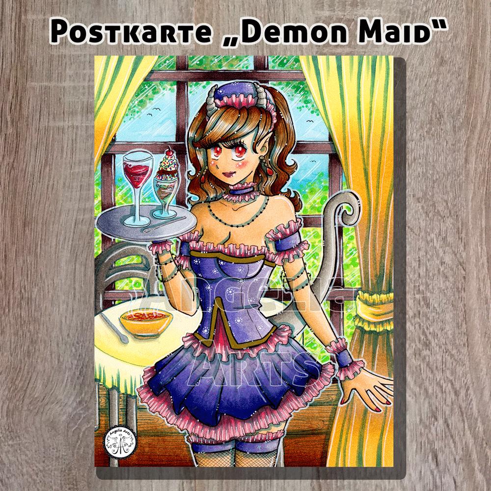 Postkarte_DemonMaid_1