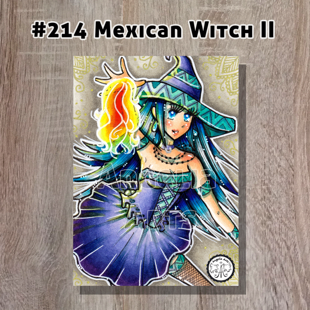 "#214 ""Mexican Witch II"""