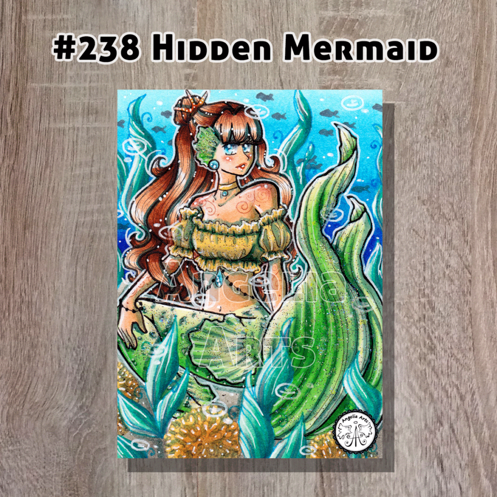 "Original ""#238 Hidden Mermaid"""