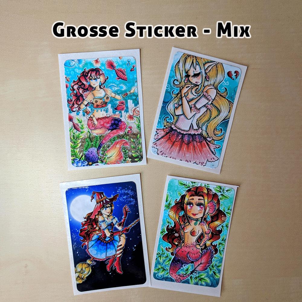 Große-Sticker-Mix