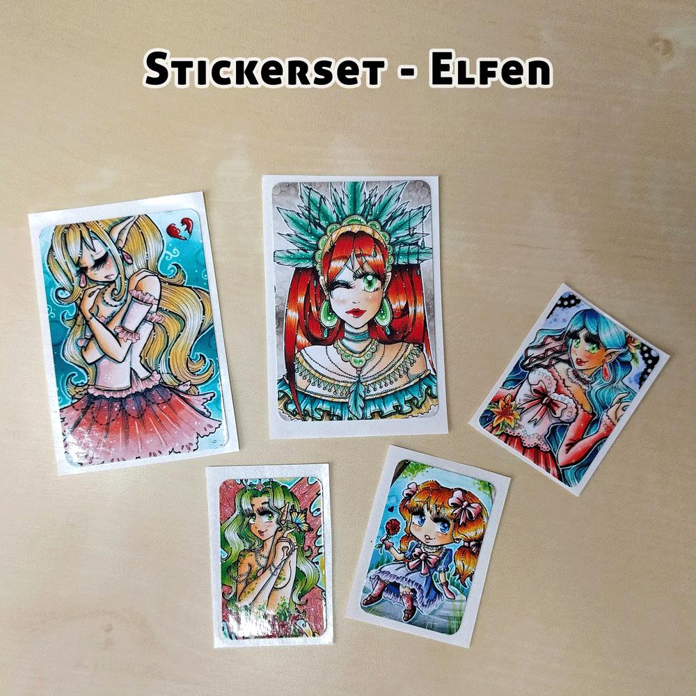 Stickerset-Elfen