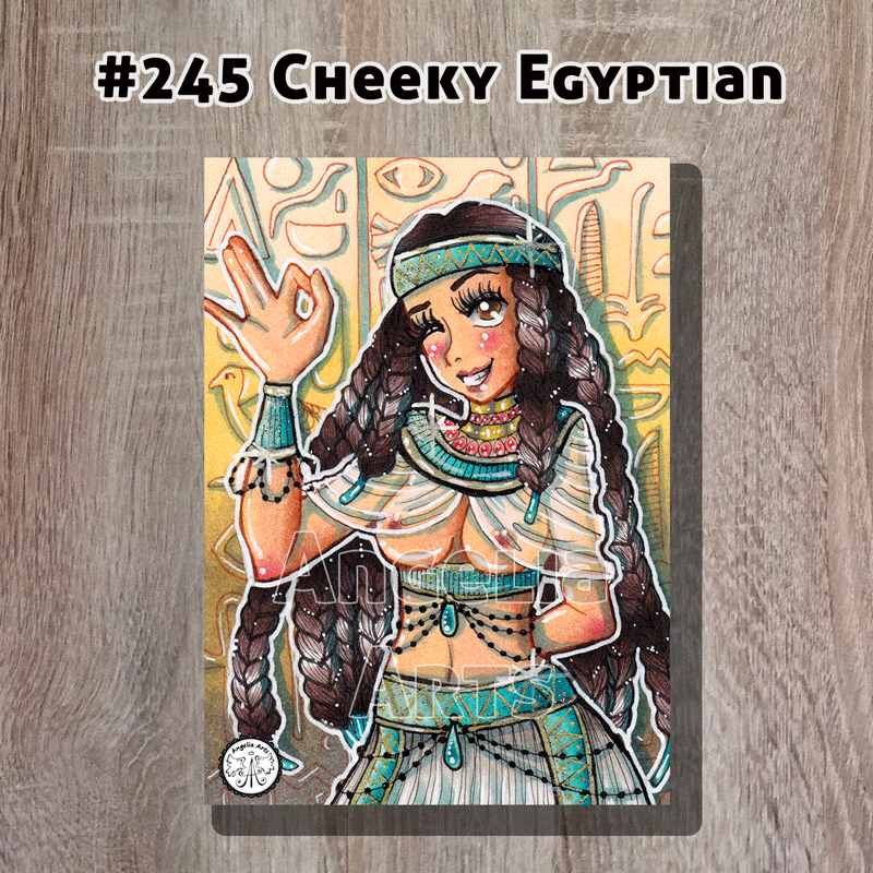"#245 ""Cheeky Egyptian"""