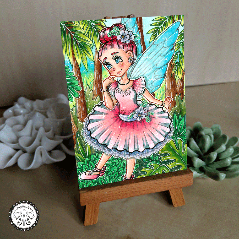 "Original ""#250 Sweet Fairy"""