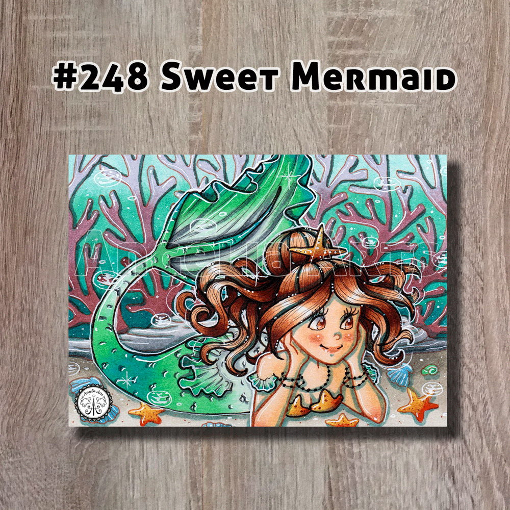 "Original ""#248 Sweet Mermaid"""