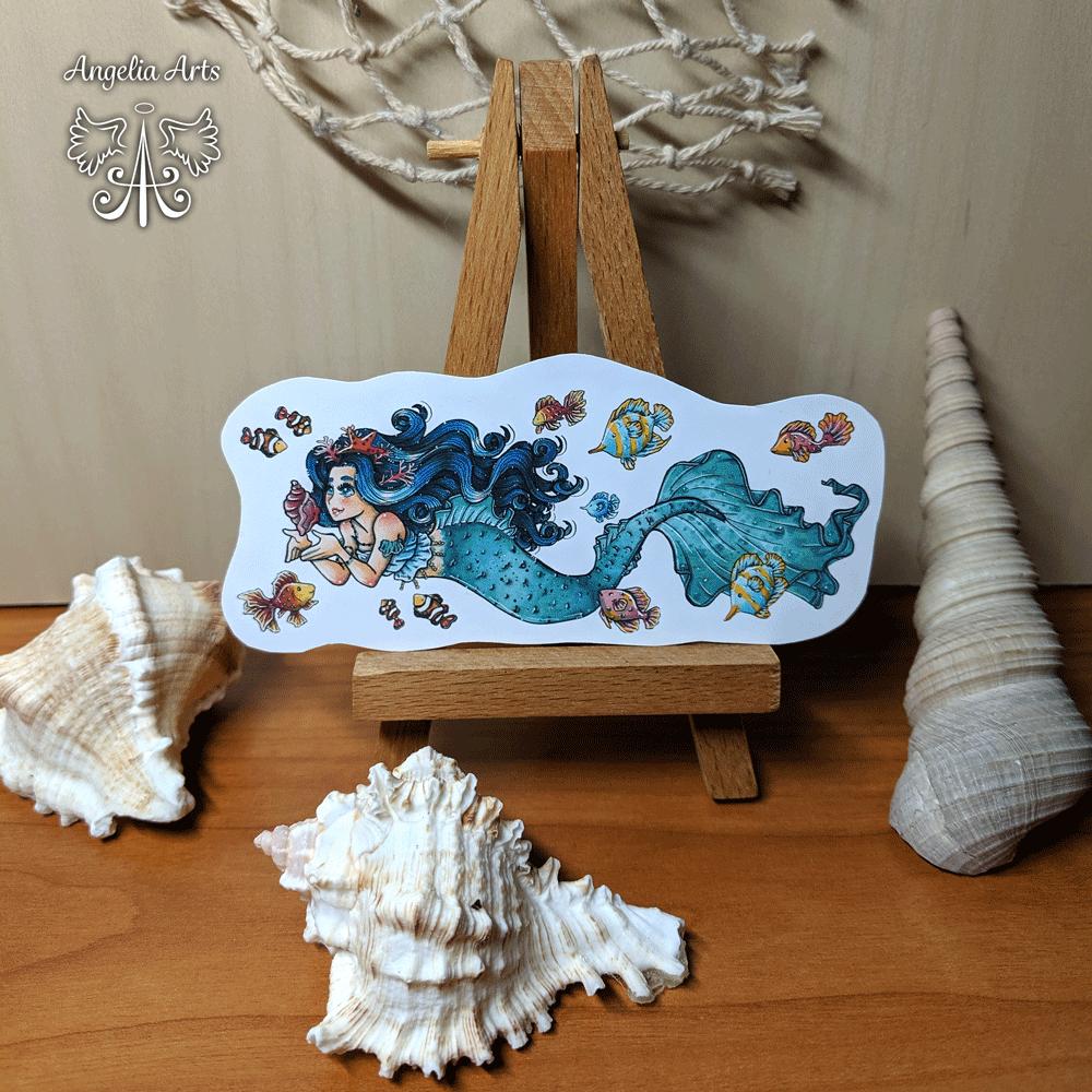 Sticker-mermaid-2