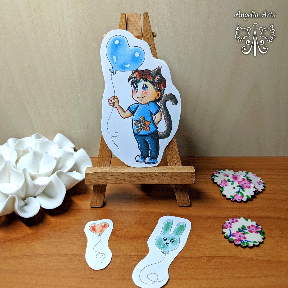 Sticker-Ballon-Boy