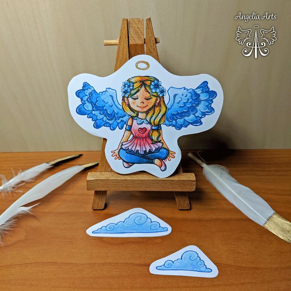 """Sticker-Set """"Angel"""""""