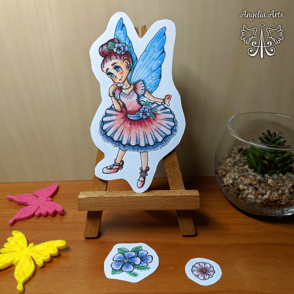 Sticker-fairy