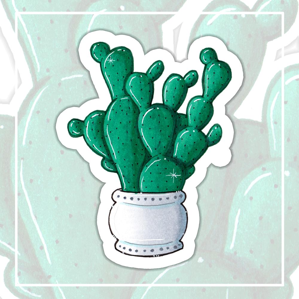 "Sticker ""Kaktus 4"""